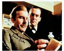David Burke Autograph Signed Photo - Sherlock Holmes