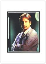 David Duchovny Autograph Signed Photo - The X-Files