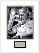 David Lean Autograph