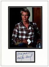 David Soul Autograph Signed Display - Starsky & Hutch
