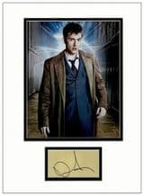David Tennant Autograph Display - Dr Who