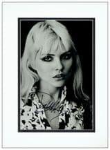 Debbie Harry Autograph Signed - Blondie