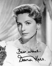 Deborah Kerr Autograph Signed Photo
