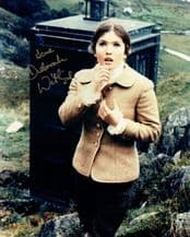 Deborah Watling Autograph Photo Signed - Dr Who