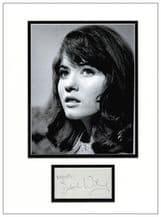 Deborah Watling Autograph Signed Display - Dr Who