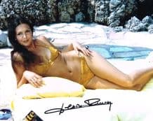 Densie Perrier Autograph Signed Photo - Diamonds Are Forever