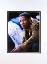 Denzel Washington Autograph Signed Photo