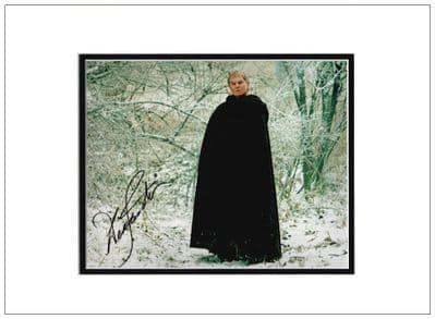 Derek Jacobi Autograph Signed Photo - Cadfael