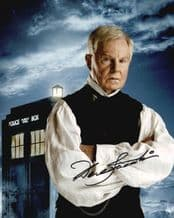 Derek Jacobi Autograph Signed Photo - Dr Who