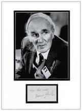 Desmond Llewelyn Autograph Display