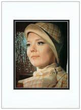 Diana Rigg Autograph Photo - James Bond