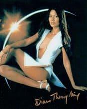 Diane Thierry-Mieg Autograph Photo - Moonraker