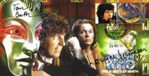 Doctor Who Signed First Day Cover - Baker & Jameson
