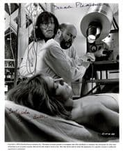 Donald Pleasence & Tom Baker Autograph Signed Photo - The Mutations