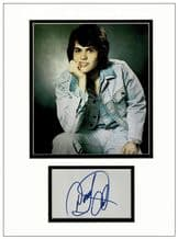 Donny Osmond Autograph Signed Display