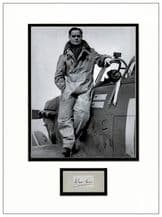Douglas Bader Autograph Display