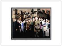 Downton Abbey Cast Autograph Signed Photo