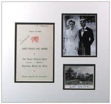 Duke & Duchess of Windsor Autograph Signed Display