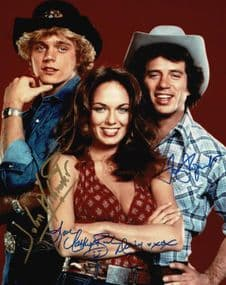 Dukes of Hazzard Autograph Signed Photo