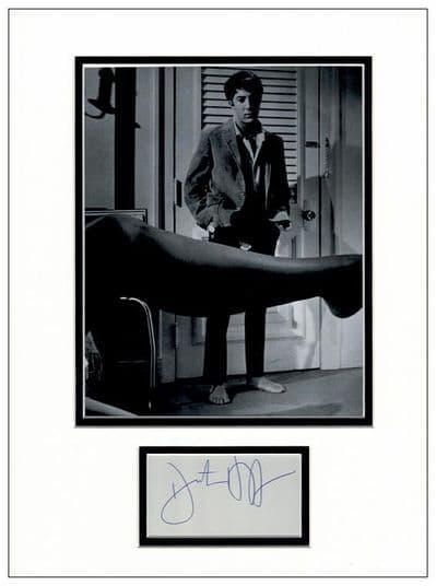 Dustin Hoffman Autograph Display - The Graduate