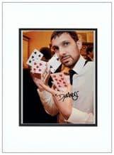 Dynamo Autograph Photo Signed