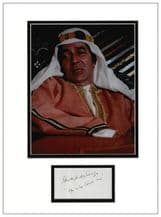 Edward De Souza Autograph Display  - The Spy Who Loved Me