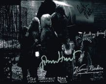 Elephant Man Cast Signed Photo