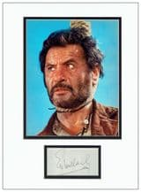 Eli Wallach Signed Display - The Good, The Bad & The Ugly
