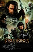 Elijah Wood & Billy Boyd Autograph Signed Photo - Lord of the Rings