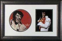 Elvis Presley Autograph Display Signed Menu