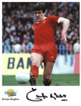 Emlyn Hughes Autograph Signed Photo