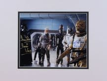 Empire Strikes Back Autograph Signed Photo