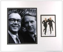 Eric Morecambe and Ernie Wise Autograph Signed Photo Display