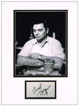 Ernest Borgnine Autograph Signed
