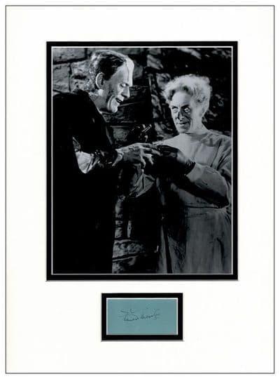 Ernest Thesiger Autograph Signed - Bride of Frankenstein