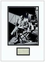 Ernst Lubitsch Autograph Signed Display