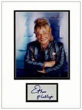 Ethan Phillips Autograph Display - Star Trek: Voyager