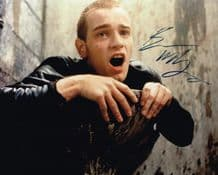 Ewan McGregor Autograph Signed Photo - Trainspotting
