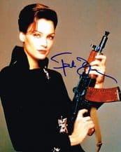 Famke Janssen Autograph Signed Photo - James Bond