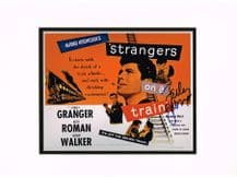 Farley Granger Autograph Signed Photo - Strangers On A Train