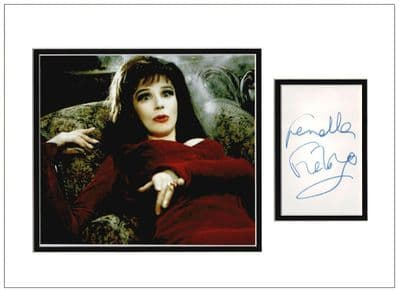 Fenella Fielding Autograph Signed Display - Carry On Screaming