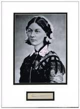 Florence Nightingale Autograph Signed