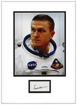 Frank Borman Autograph Display - Apollo 8