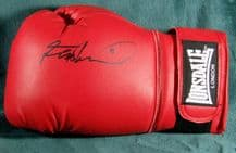 Frank Bruno Autograph Signed Boxing Glove