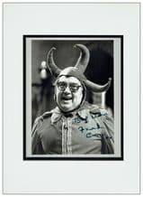 Frank Carson Autograph Signed Photo