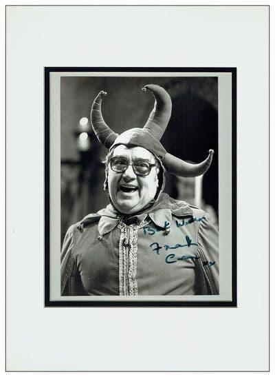 Frank Carson Autograph Signed Photo