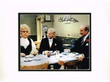 Frank Thornton Autograph Signed Photo - Are You Being Served?