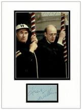 Frank Williams Autograph Signed Display - Dad's Army