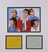 Freddie And The Dreamers Autograph Signed Memorabilia