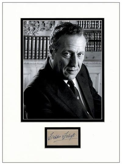 Frederick Forsyth Autograph Signed Display